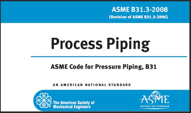 ASME B31.3 design code