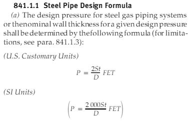 minimum required thickness as per ASME b31.8